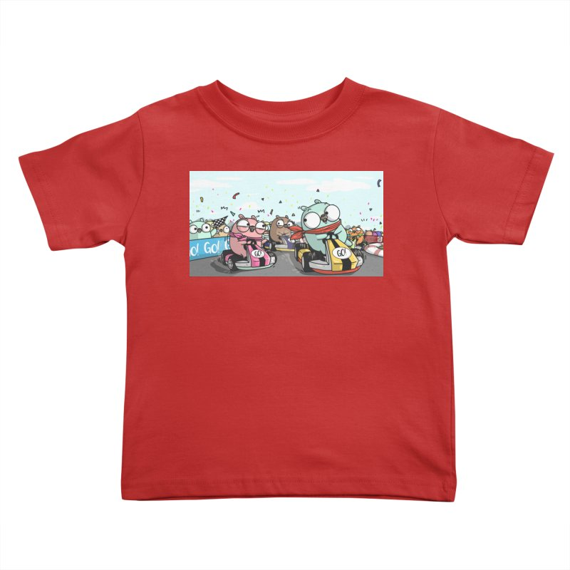 Go Race Kids Toddler T-Shirt by Women Who Go