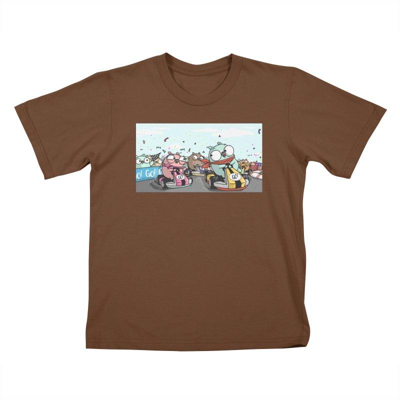 Go Race Kids T-Shirt by Women Who Go