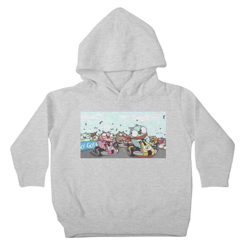 Go Race Kids Toddler Pullover Hoody by Women Who Go