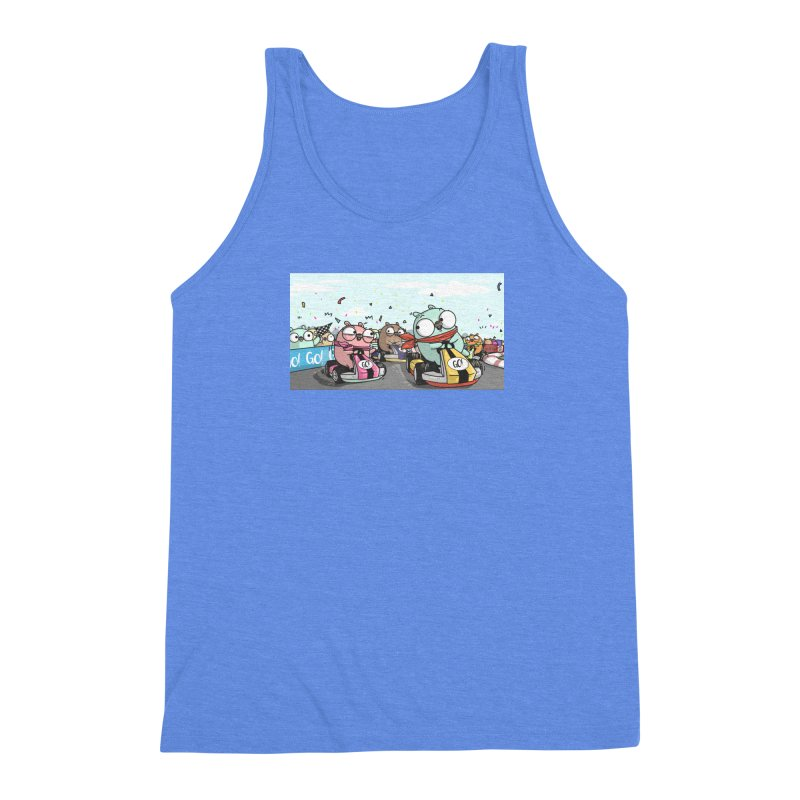 Go Race Men's Triblend Tank by Women Who Go