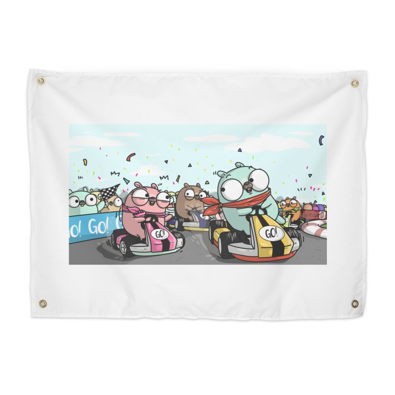 Go Race Home Tapestry by Women Who Go