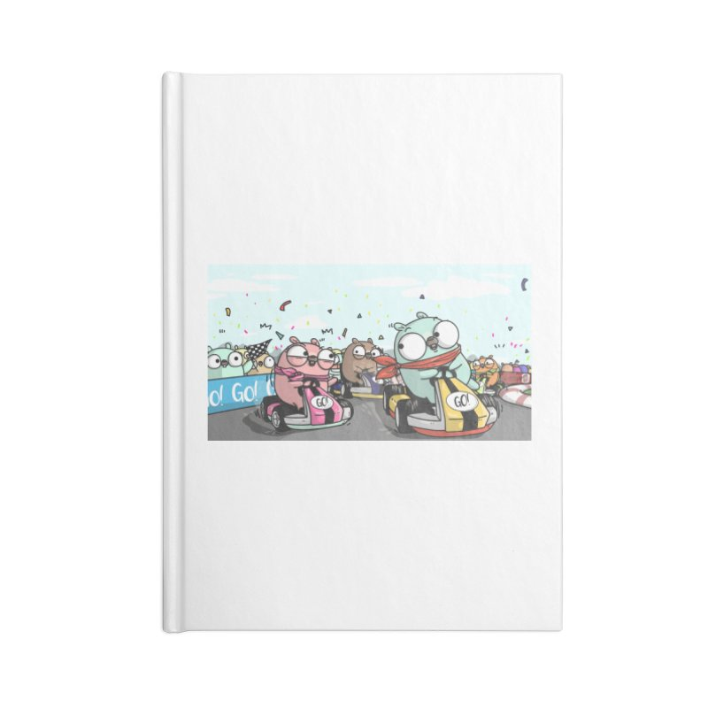 Go Race Accessories Blank Journal Notebook by Women Who Go
