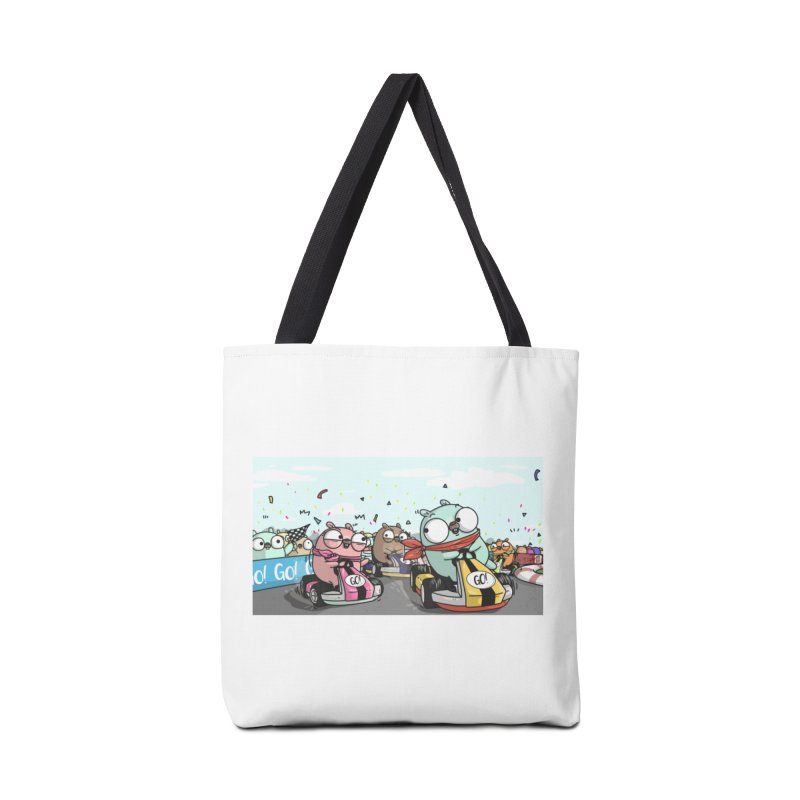 Go Race Accessories Tote Bag Bag by Women Who Go