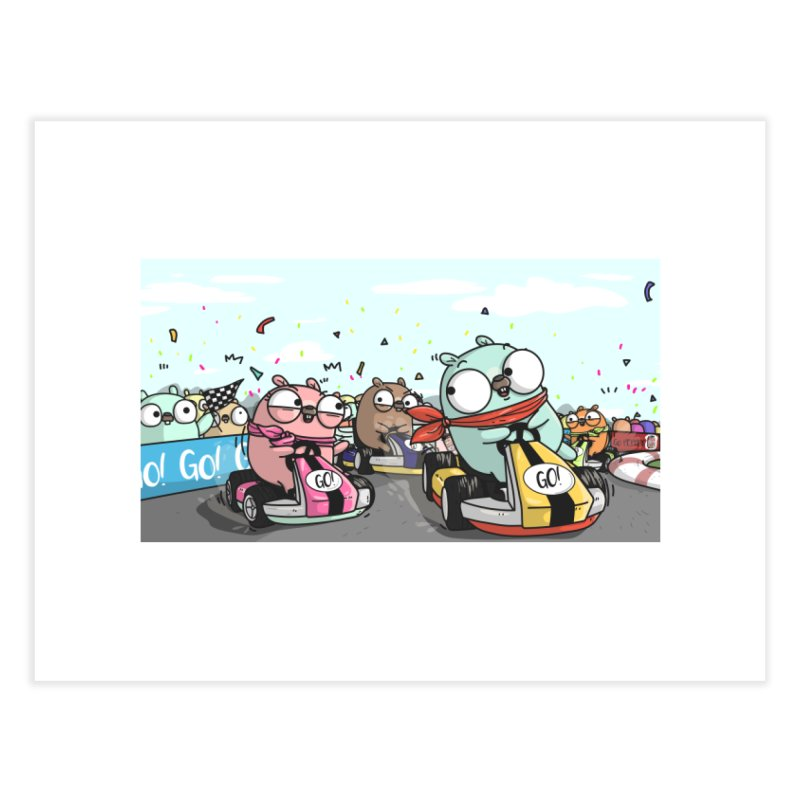 Go Race Home Fine Art Print by Women Who Go