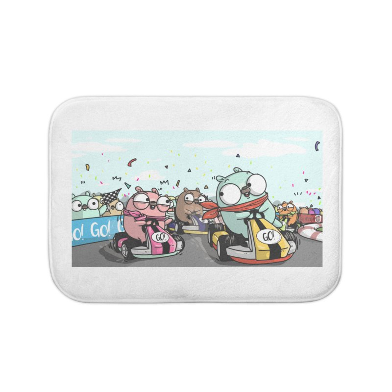 Go Race Home Bath Mat by Women Who Go