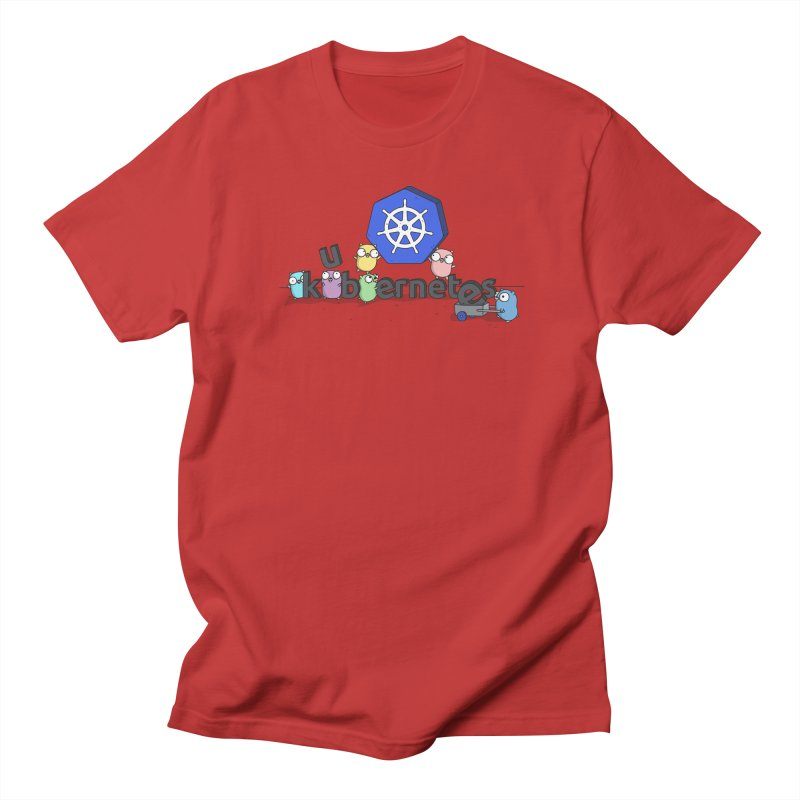 Kubernetes Gophers Men's T-Shirt by Women Who Go