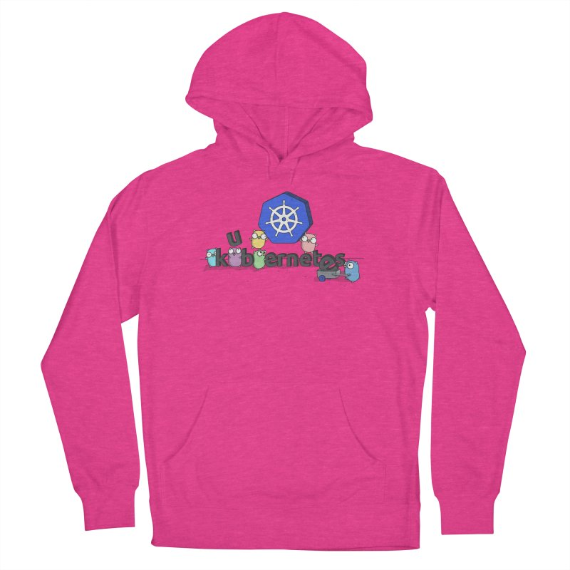 Kubernetes Gophers Women's French Terry Pullover Hoody by Women Who Go
