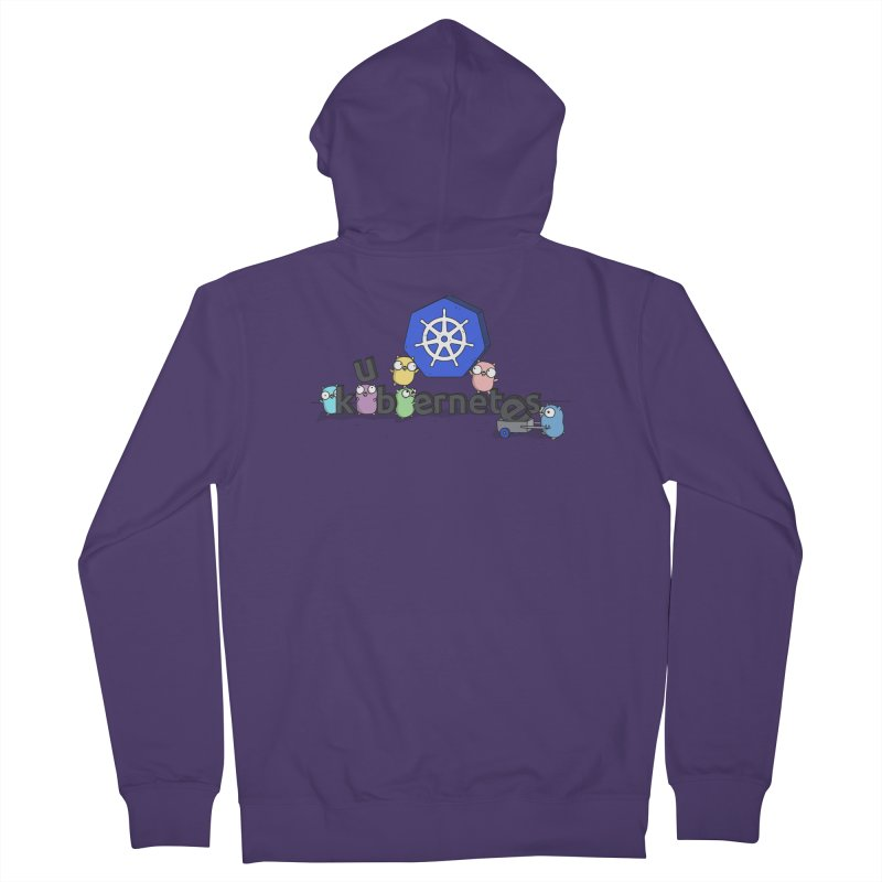 Kubernetes Gophers Women's Zip-Up Hoody by Women Who Go