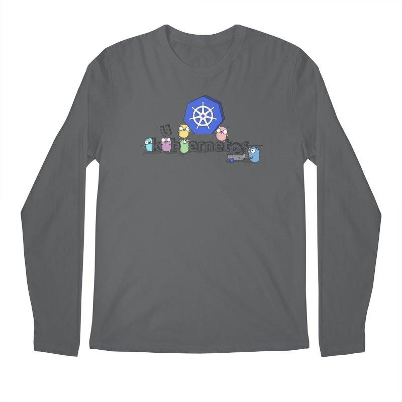 Kubernetes Gophers Men's Longsleeve T-Shirt by Women Who Go