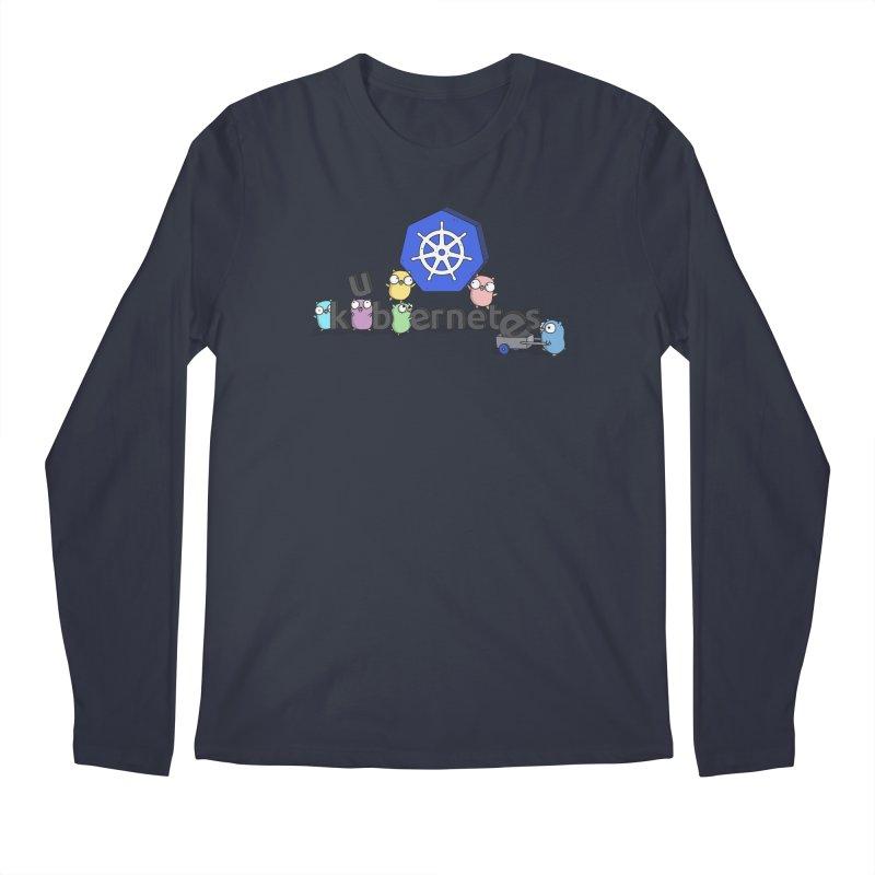 Kubernetes Gophers Men's Regular Longsleeve T-Shirt by Women Who Go