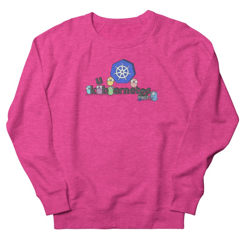 Kubernetes Gophers Women's French Terry Sweatshirt by Women Who Go