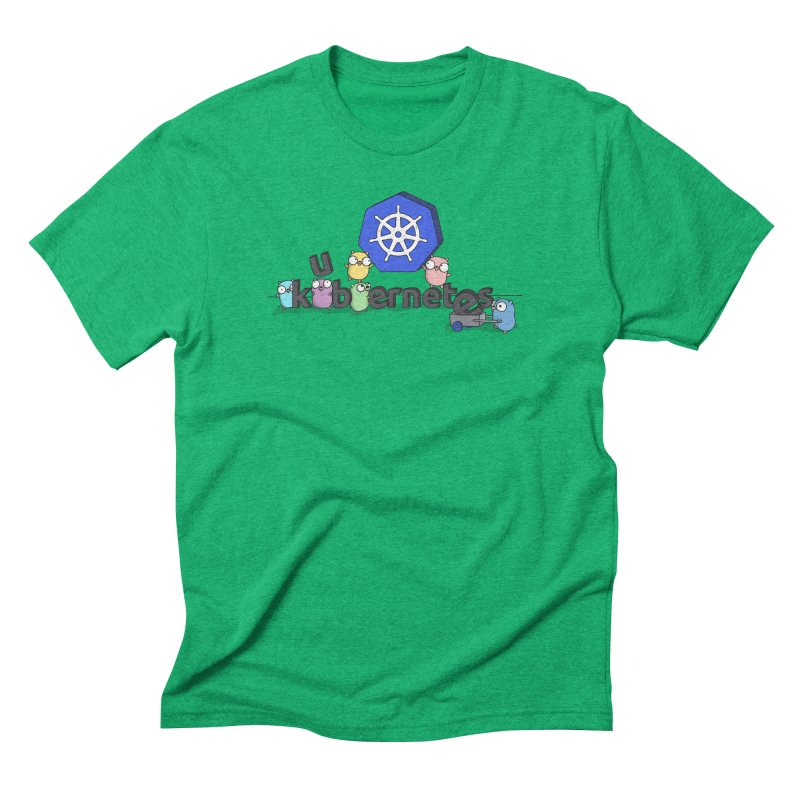 Kubernetes Gophers Men's Triblend T-Shirt by Women Who Go