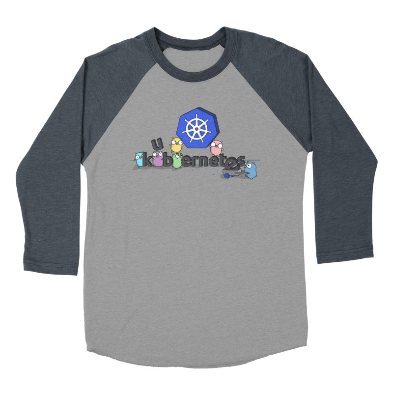 Kubernetes Gophers Women's Baseball Triblend Longsleeve T-Shirt by Women Who Go