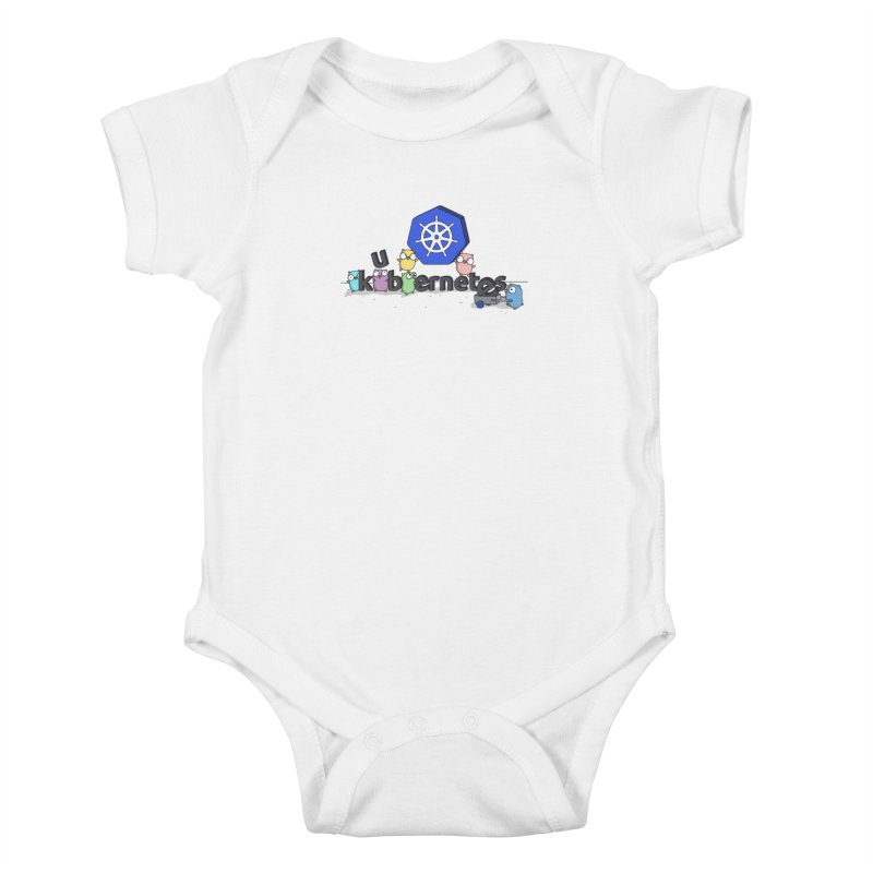 Kubernetes Gophers Kids Baby Bodysuit by Women Who Go
