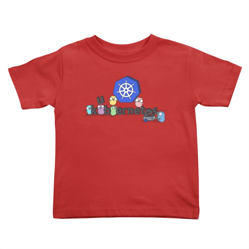 Kubernetes Gophers Kids Toddler T-Shirt by Women Who Go