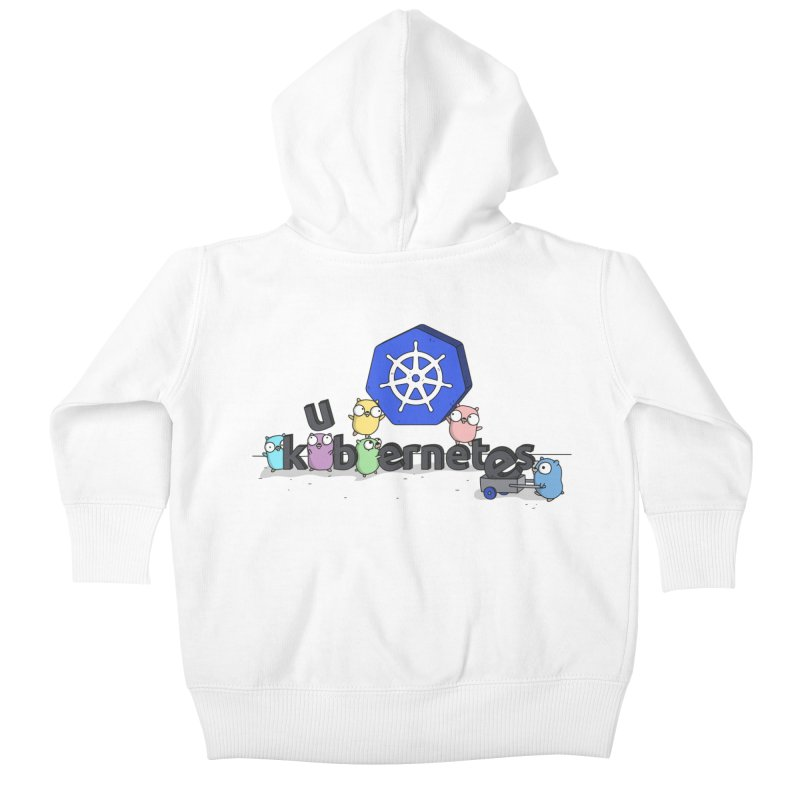 Kubernetes Gophers Kids Baby Zip-Up Hoody by Women Who Go