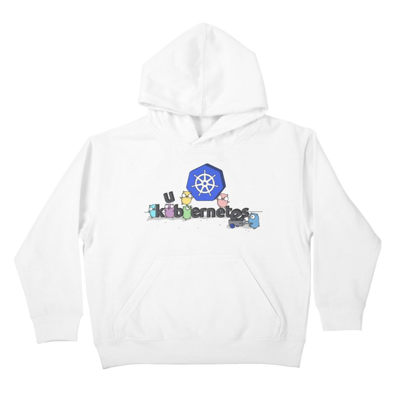 Kubernetes Gophers Kids Pullover Hoody by Women Who Go