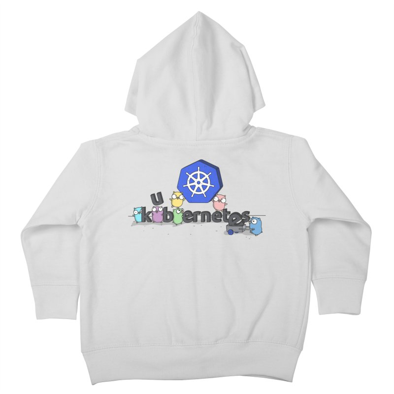 Kubernetes Gophers Kids Toddler Zip-Up Hoody by Women Who Go