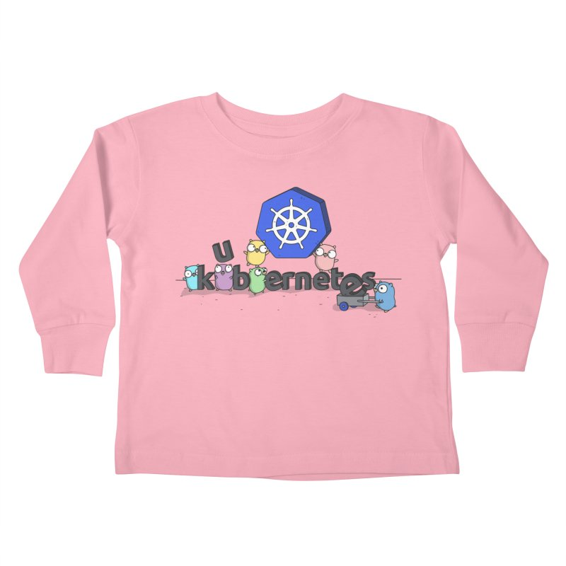 Kubernetes Gophers Kids Toddler Longsleeve T-Shirt by Women Who Go