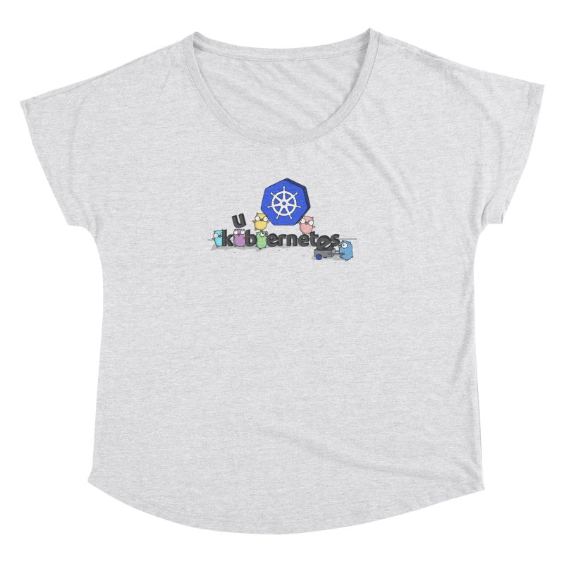 Kubernetes Gophers Women's Dolman Scoop Neck by Women Who Go