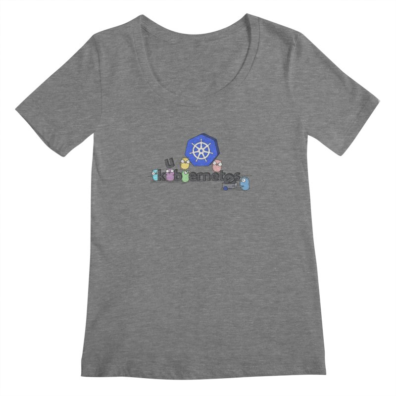 Kubernetes Gophers Women's Scoopneck by Women Who Go