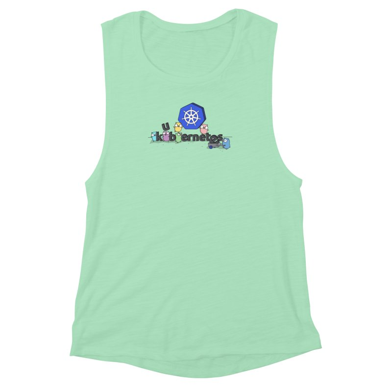 Kubernetes Gophers Women's Muscle Tank by Women Who Go