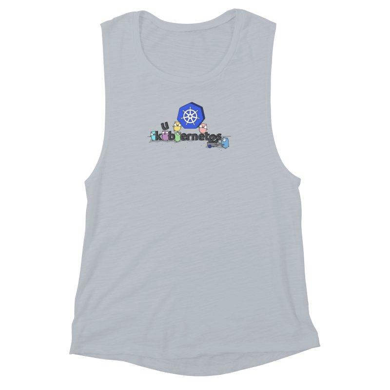Kubernetes Gophers Women's Muscle Tank by Women Who Go