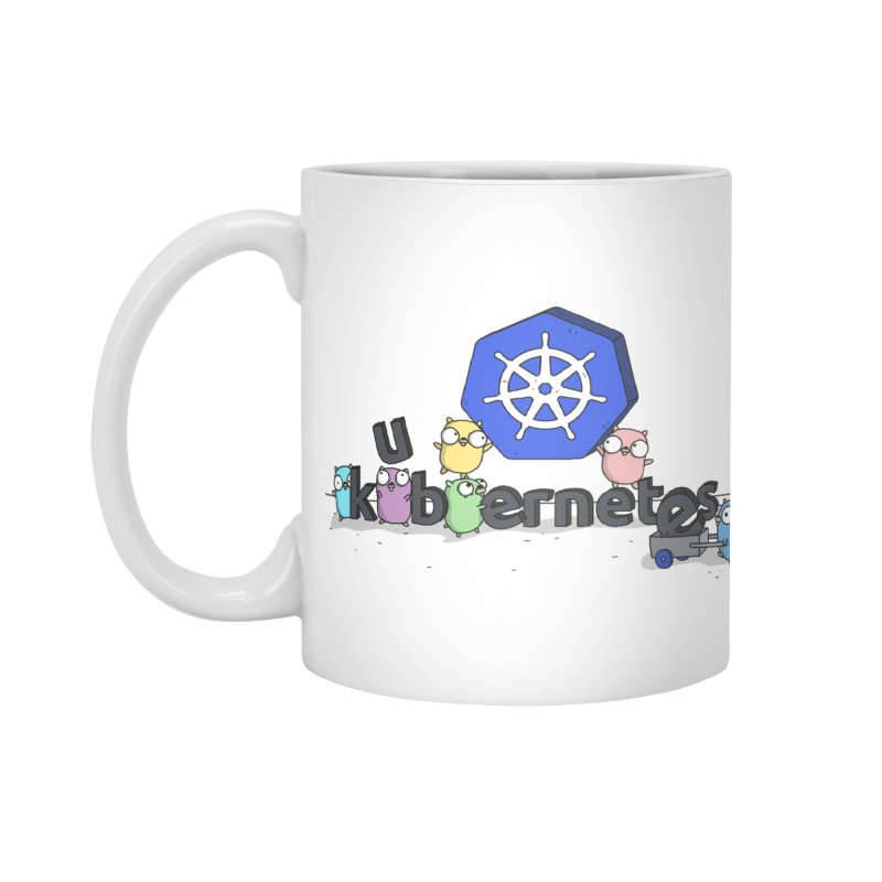 Kubernetes Gophers Accessories Mug by Women Who Go