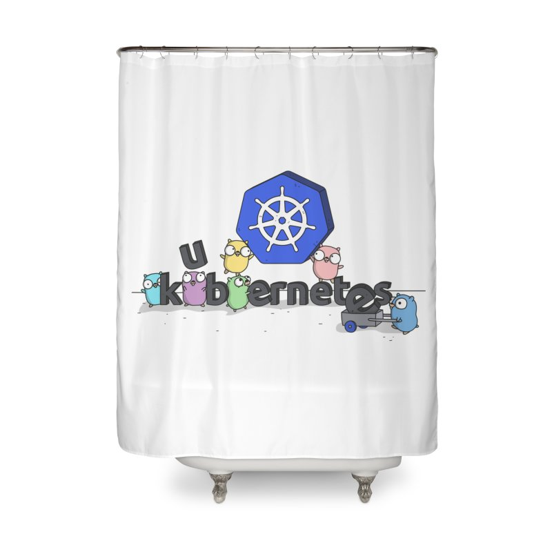 Kubernetes Gophers Home Shower Curtain by Women Who Go