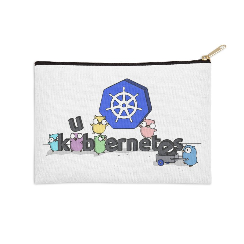 Kubernetes Gophers Accessories Zip Pouch by Women Who Go