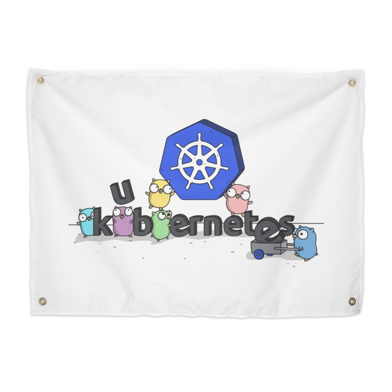 Kubernetes Gophers Home Tapestry by Women Who Go