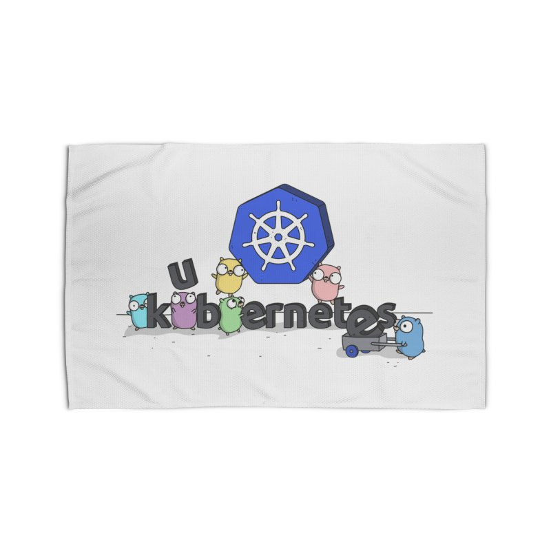 Kubernetes Gophers Home Rug by Women Who Go