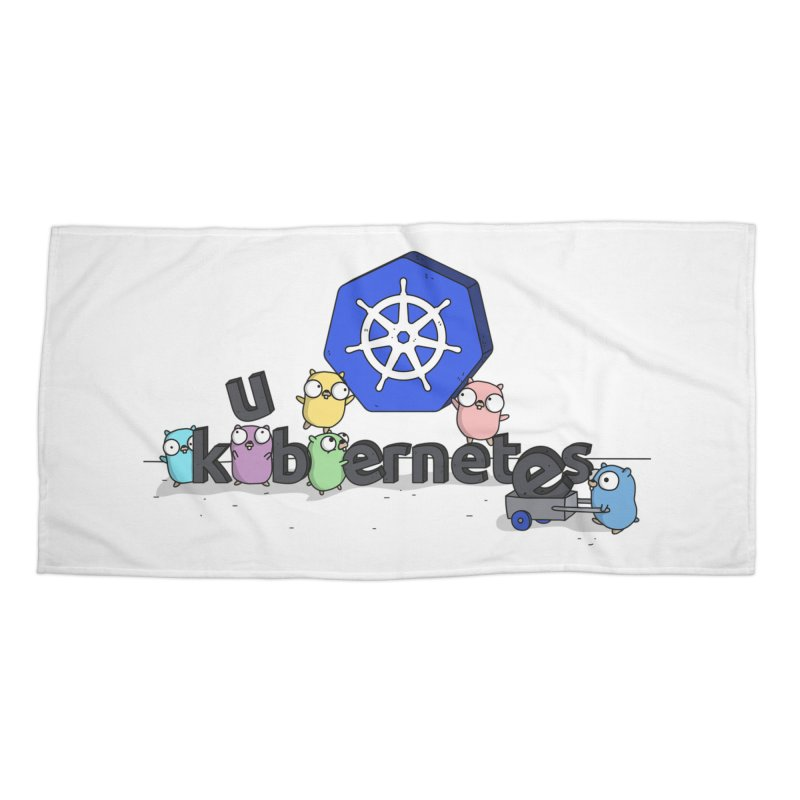 Kubernetes Gophers Accessories Beach Towel by Women Who Go
