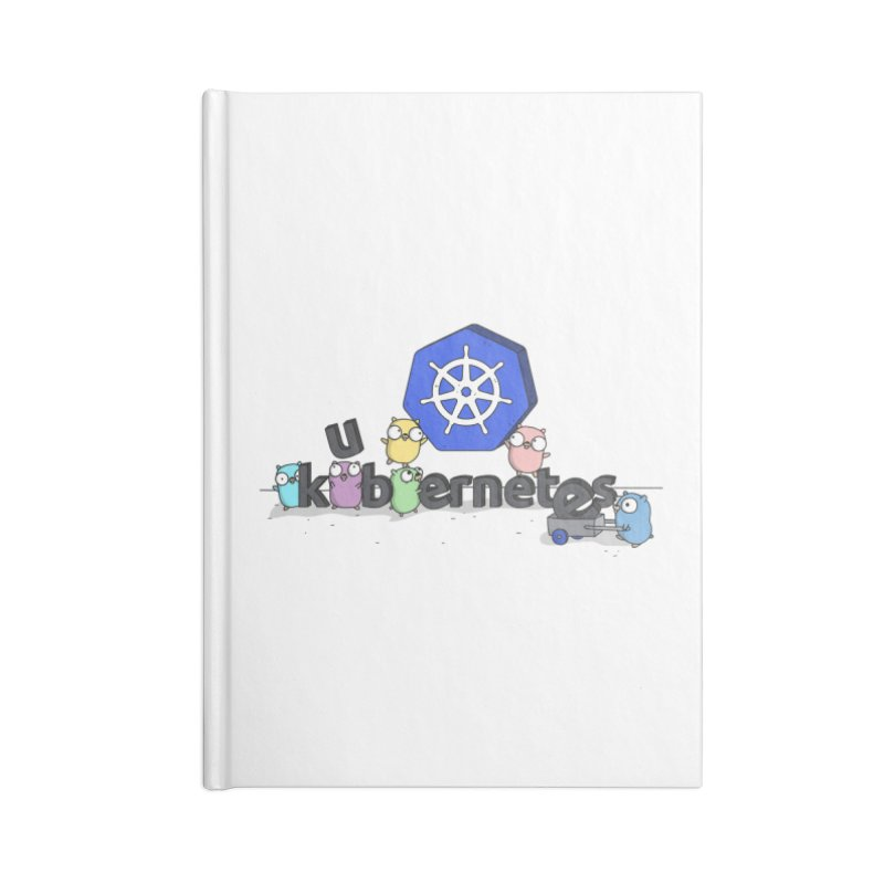 Kubernetes Gophers Accessories Notebook by Women Who Go