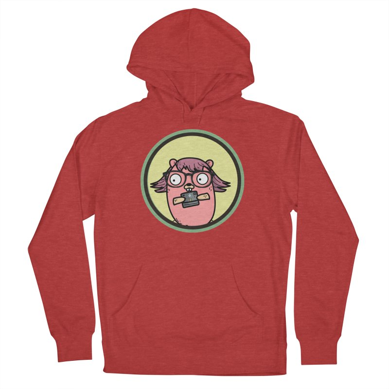 Vintage Gopher Men's French Terry Pullover Hoody by Women Who Go