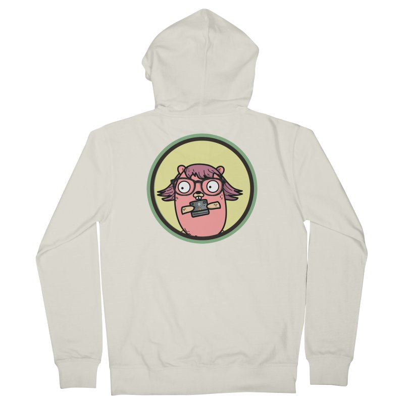 Vintage Gopher Men's Zip-Up Hoody by Women Who Go
