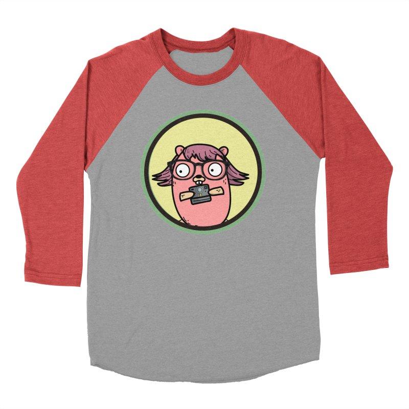 Vintage Gopher Men's Baseball Triblend Longsleeve T-Shirt by Women Who Go