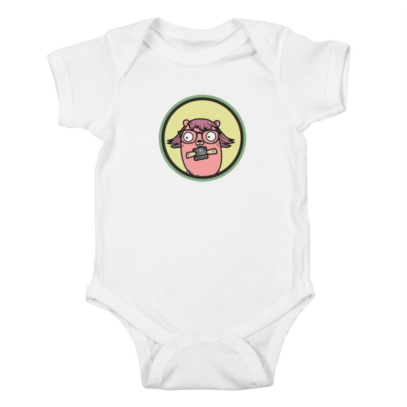Vintage Gopher Kids Baby Bodysuit by Women Who Go