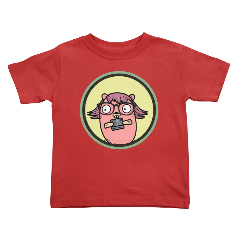 Vintage Gopher Kids Toddler T-Shirt by Women Who Go