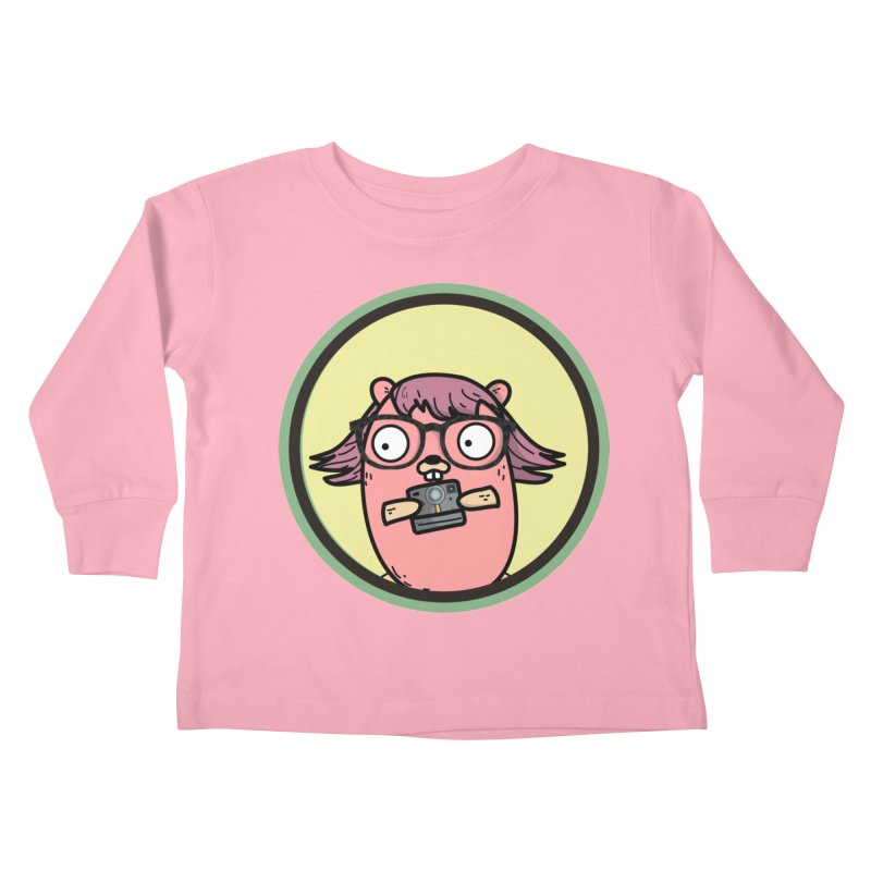 Vintage Gopher Kids Toddler Longsleeve T-Shirt by Women Who Go