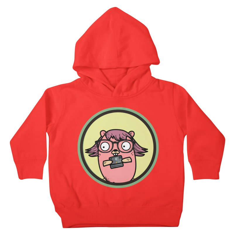 Vintage Gopher Kids Toddler Pullover Hoody by Women Who Go
