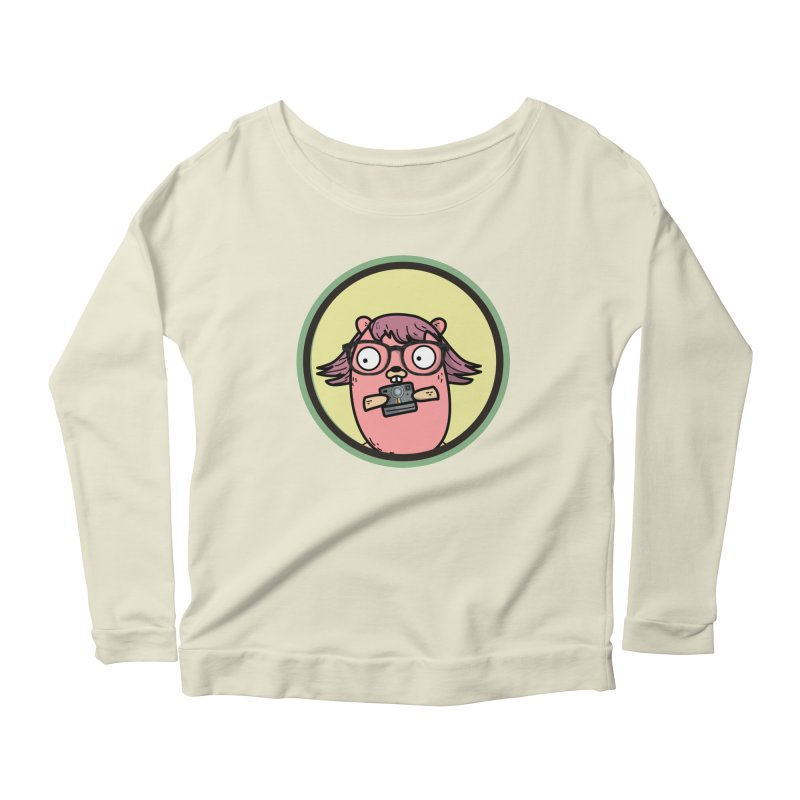 Vintage Gopher Women's Scoop Neck Longsleeve T-Shirt by Women Who Go