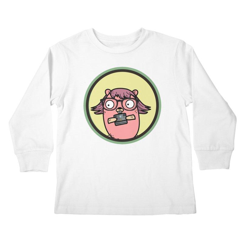 Vintage Gopher Kids Longsleeve T-Shirt by Women Who Go