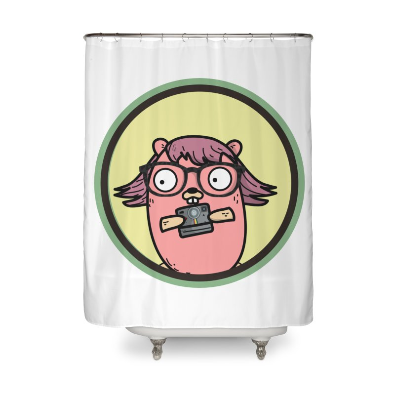 Vintage Gopher Home Shower Curtain by Women Who Go