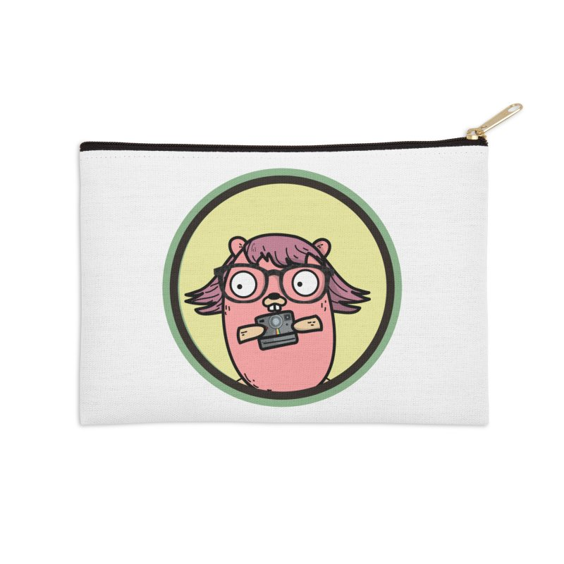 Vintage Gopher Accessories Zip Pouch by Women Who Go