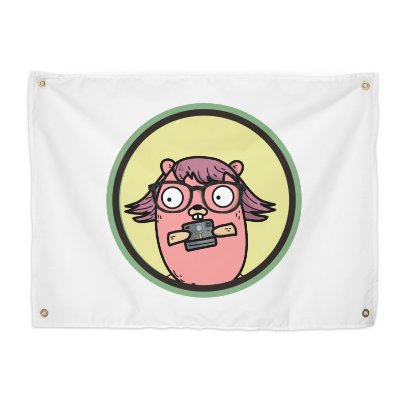 Vintage Gopher Home Tapestry by Women Who Go
