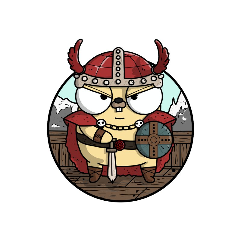 Viking Gopher   by Women Who Go