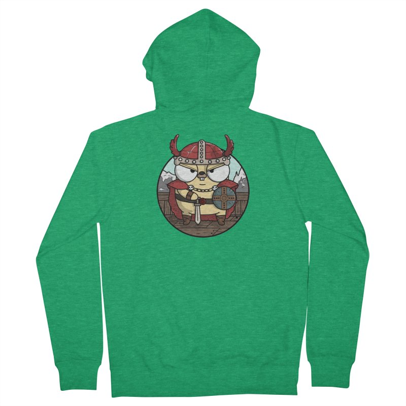 Viking Gopher Men's Zip-Up Hoody by Women Who Go
