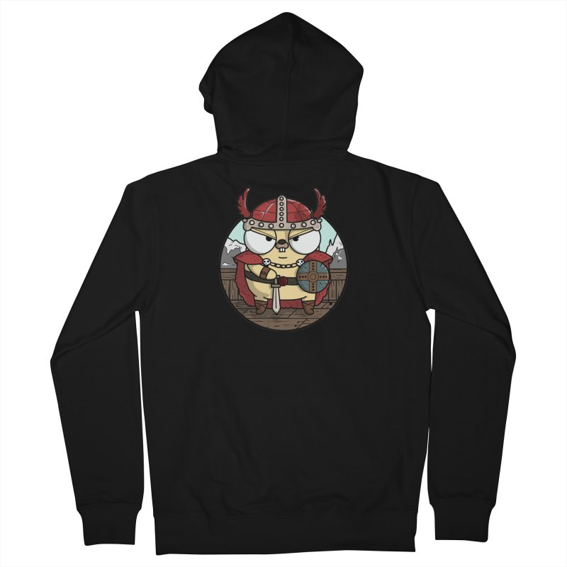 Viking Gopher Men's French Terry Zip-Up Hoody by Women Who Go