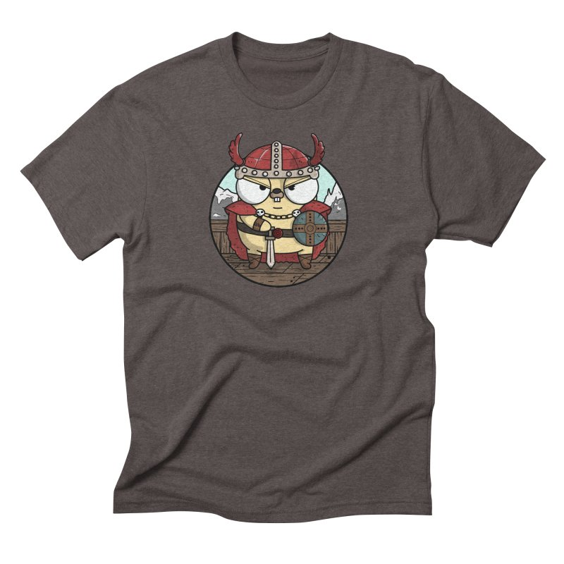 Viking Gopher Men's Triblend T-Shirt by Women Who Go